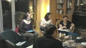 Die bekannte Damenriege: v.l.n.r. Doris, Barbara und Sina