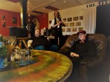 mehr Backstage, Anton und Marc sind entspannt