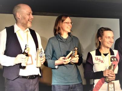 Elmar (Autor), Verena (Autor) und Nicole (Assistenz) - ohne sie geht nichts!
